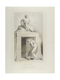 Death's Door  Pl12  Illustration from 'The Grave  a Poem' by William Blake (1757-1827) Engraved…