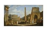 A Capriccio View of Roman Ruins  1737