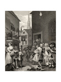 Times of the Day: Noon  from 'The Works of William Hogarth'  Published 1833