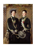 The Twins  Portrait of Kate Edith and Grace Maud Hoare  1876