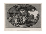 Hunting  Engraved by Robert Pollard (1755-1838)  1784