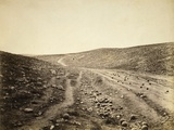 The Valley of Death  after the Charge of the Light Brigade  1855