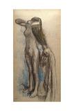 Femme Se Coiffant  C1887-90