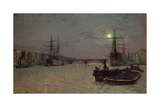 London Bridge- Half Tide  1884