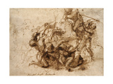 Fight Study for the 'Cascina Battle'  1504