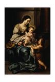 La Serrana Or  Madonna and Child with the Infant St John
