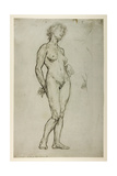 Study of a Female Figure  1898