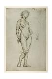 Study of a Female Figure  1898