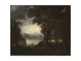 An Opening in the Woods  1770s