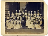 Group Portrait of Medical Staff from St Thomas's Hospital