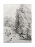 New College Garden  1821
