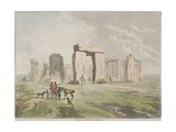 Stonehenge  Seven Miles North West of Salisbury  1791
