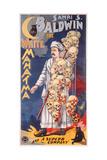 Poster Advertising Samri S Baldwin  the White Mahatma  C1888