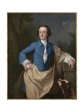 Portrait of Thomas Barrett-Lennard