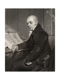 Joshua Brookes  Engraved by H Cook  from 'National Portrait Gallery  Volume V'  Published C1835
