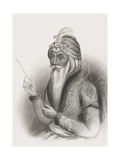 Maharaja Ranjit Singh  from 'Gallery of Historical Portraits'  Published C1880