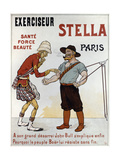 Poster Advertising the Exercise Machine 'stella'