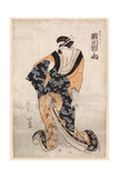 Actor  Segawa Michinosuke  in the Part of the Courtesan Omune  1807