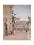 Whistler in the Cremorne Gardens  Chelsea  1869