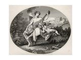 Hymen and Cupid  from 'The Works of William Hogarth'  Published 1833