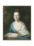 Portrait of Mrs Margaret Hippisley  C1769