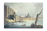 View of Somerset House and the Thames  1796