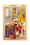A Scene from the Council of Constance  from 'Chronik Des Konzils Von Konstanz'