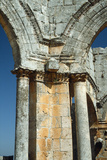 The Corner Exedra Joining Two of the Four Basilicas at the Central Court of the Church of St…