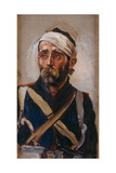 Study of a Wounded Guardsman  Crimea  C1874