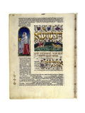 Fol147V from 'The Rothschild Miscellany'  Northern Italy  C1450-80