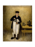Portrait of the Chatsworth Cellarman  C1835