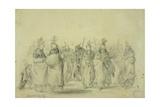 Dance of the Mandan Women  C1833-43