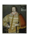 Portrait of Thomas Cavendish  the Circumnavigator  1588-91