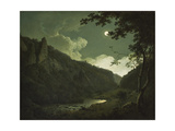 Dovedale by Moonlight  C1784-85