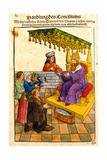 Sigismund Performs His Feudal Duties at the Council of Constance  from 'Chronik Des Konzils Von…