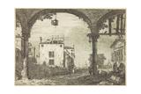 Le Portique a La Lanterne  C1744