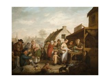 The Scottish Market Place  1818