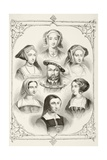 King Henry Viii of England and His Six Wives  from 'The National and Domestic History of England'…