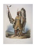 Mato-Tope  a Mandan Chief  Engraved by J Hurliman  Published in 1839