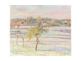 White Frost at Eragny  1895