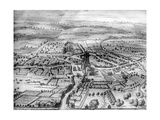 Cirencester Park  from 'The Ancient and Present State of Gloucestershire' by Sir Robert Atkyns …