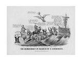 The Democracy in Search of a Candidate  Published by Currier and Ives  New York  1868