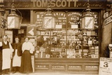 Tom Scott's Hairdresser and Tobacconist  Leytonstone  London