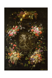 Garland of Fruit and Flowers with the Death of Adonis  1652
