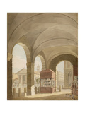 St Paul's  Covent Garden C1765-75