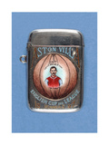 Vesta Case Decorated with 'Aston Villa English Cup and League Winners'  1897