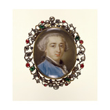 Portrait Miniature of Richard Milles  C1758