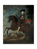 Cardinal-Infante Ferdinand on Horseback in the Battle of Noerdlingen  6 September 1634  1635