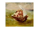 Cupids in a Shell  C1855-59