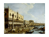 Venice: a View of the Doge's Palace and the Riva Degli Schiavoni from the Piazzetta